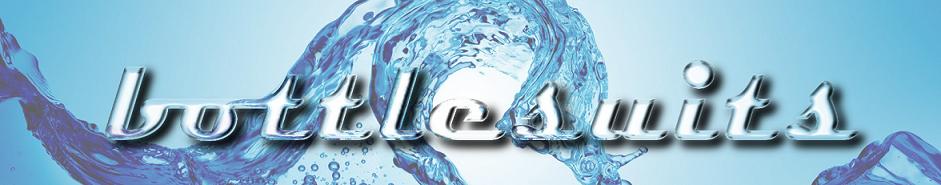 Flaschenkühler aus Neopren-Logo